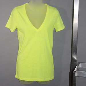 Yellow tee, NWT, J Crew, short sleeves, XS